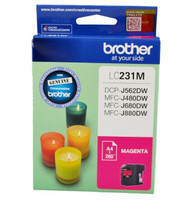 Brother LC-231M Magenta Ink Cartridge