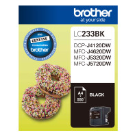Brother LC-233BK Black Ink Cartridge