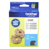 Brother LC-233C Cyan Ink Cartridge