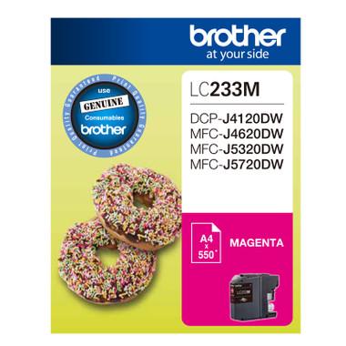 Brother LC-233M Magenta Ink Cartridge
