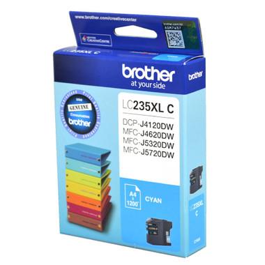 Brother LC-235XL Cyan Ink Cartridge - High Yield