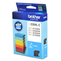 Brother LC-235XL Cyan Ink Cartridge - High Yield