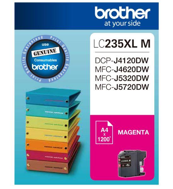 Brother LC235XL Magenta Ink Cartridge (Original)