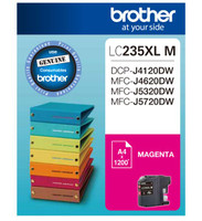 Brother LC-235XL Magenta Ink Cartridge - High Yield