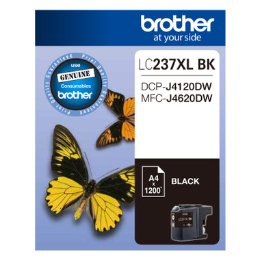 Brother LC-237XL Black Ink Cartridge - High Yield