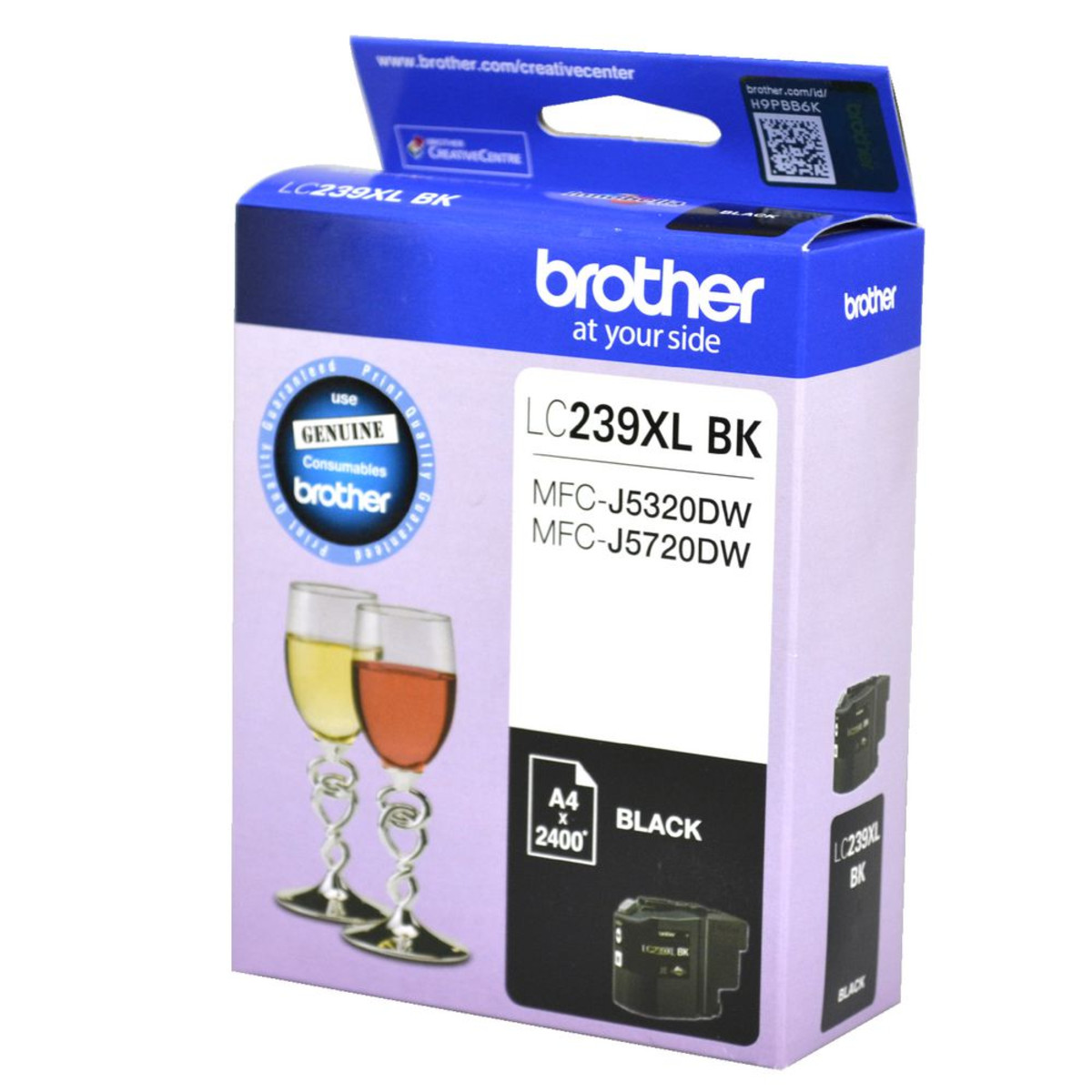 Brother LC-239XL Black Ink Cartridge - High Yield
