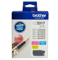 Brother LC-3317 Colour Ink Cartridges - Multi Pack