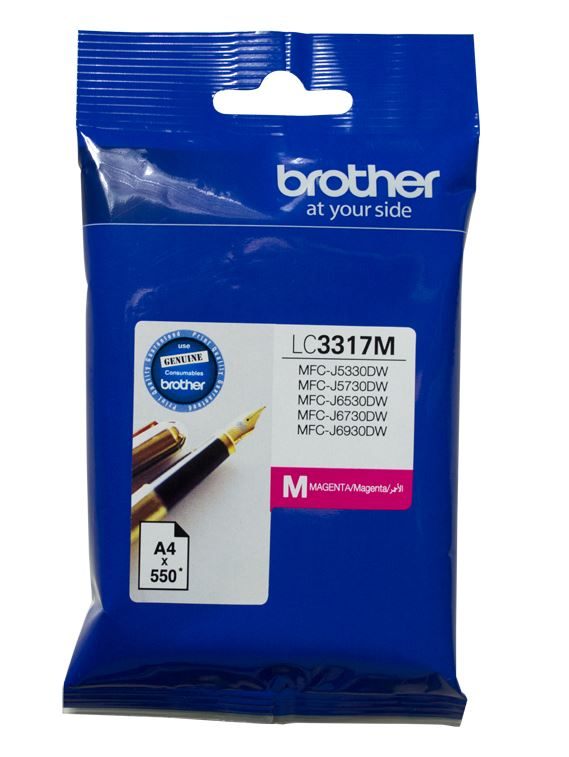 Brother LC3317 Magenta Ink Cartridge (Original)