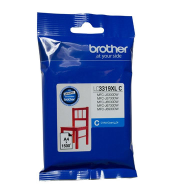 Brother LC3319 Cyan Ink Cartridge (Original)