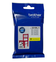 Brother LC-3319XLY Yellow Ink Cartridge - High Yield