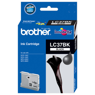Brother LC-37BK Black Ink Cartridge
