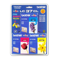 Brother LC-37CL Colour Ink Cartridges - Multi Pack