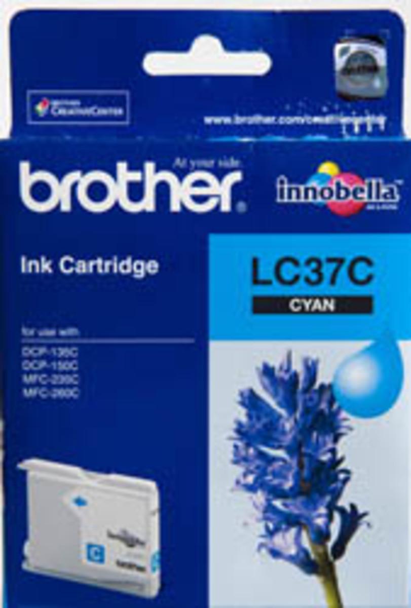 Brother LC-37C Cyan Ink Cartridge
