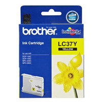 Brother LC-37Y Yellow Ink Cartridge