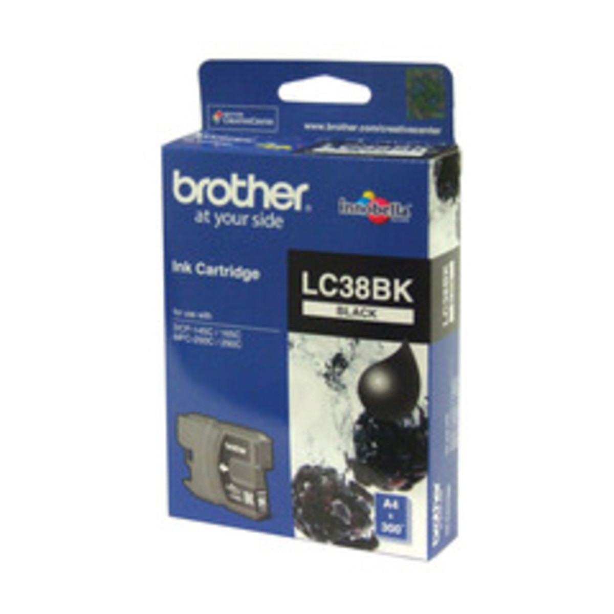 Brother LC-38BK Black Ink Cartridge