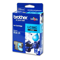 Brother LC38 Cyan Ink Cartridge (Original)