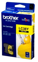 Brother LC38 Yellow Ink Cartridge (Original)