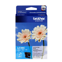Brother LC-39C Cyan Ink Cartridge - High Yield