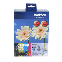 Brother LC-39 Photo Ink Cartridge -Value Pack