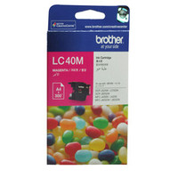 Brother LC-40M Magenta Ink Cartridge