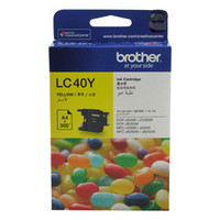 Brother LC-40Y Yellow Ink Cartridge