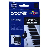 Brother LC-57BK Black Ink Cartridge