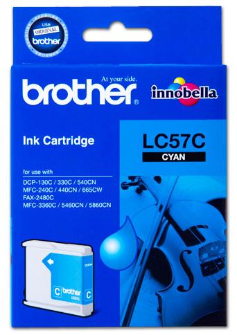 Brother LC57 Cyan Ink Cartridge (Original)