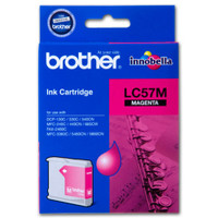 Brother LC57 Magenta Ink Cartridge (Original)