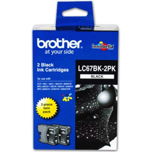 Brother LC67 Black Ink Cartridge (Original)