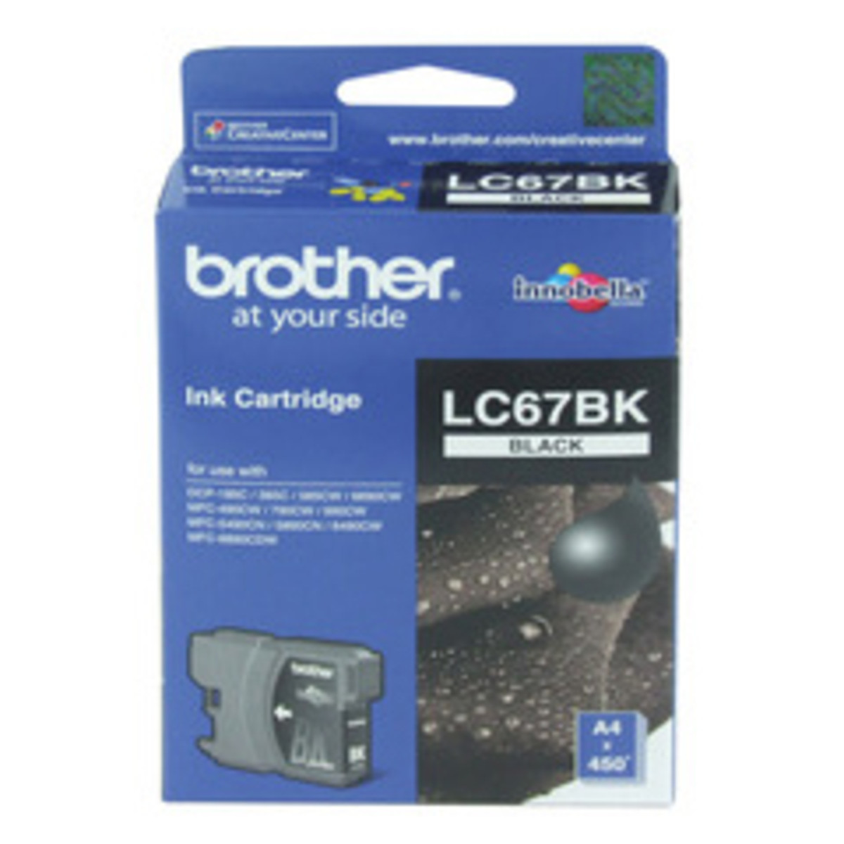 Brother LC-67BK Black Ink Cartridge