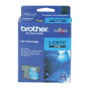 Brother LC67 Cyan Ink Cartridge (Original)