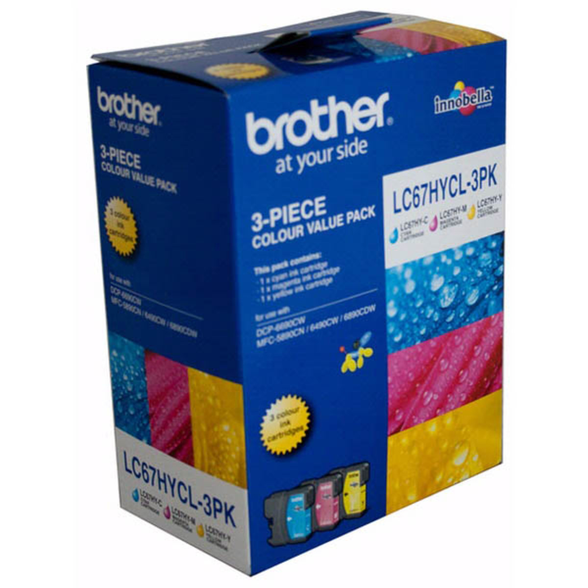 Brother LC-67HY Colour Ink Cartridges - Multi Pack