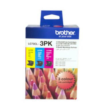 Brother LC-73 Colour Ink Cartridges - Multi Pack