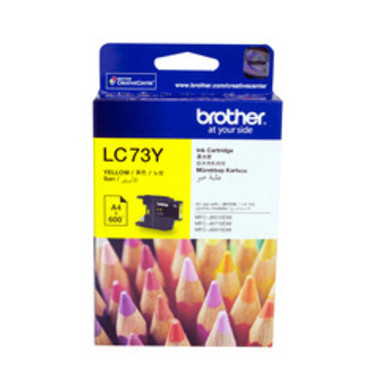 Brother LC73 Yellow Ink Cartridge (Original)