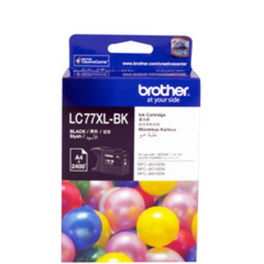 Brother LC-77XL Black Ink Cartridge - High Yield