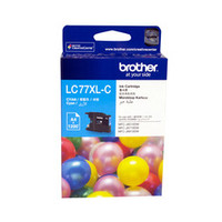 Brother LC-77XLC Cyan Ink Cartridge - High Yield