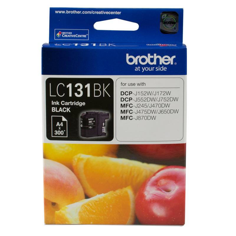 Brother LC131 Black Ink Cartridge (Original)