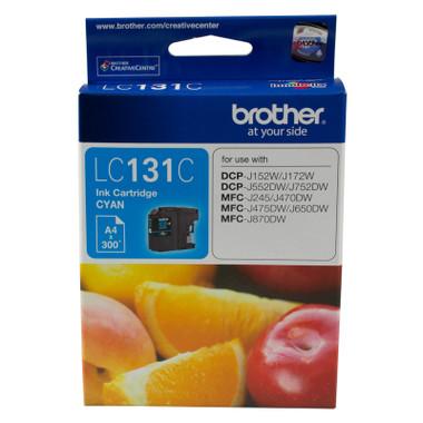 Brother LC131 Cyan Ink Cartridge (Original)