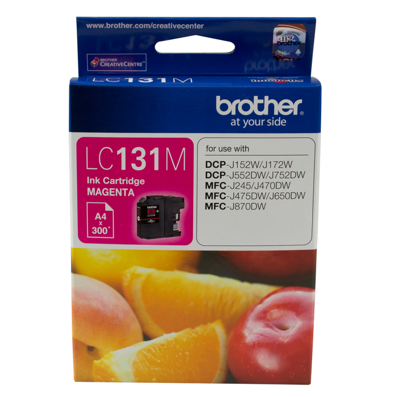 Brother LC131 Magenta Ink Cartridge (Original)