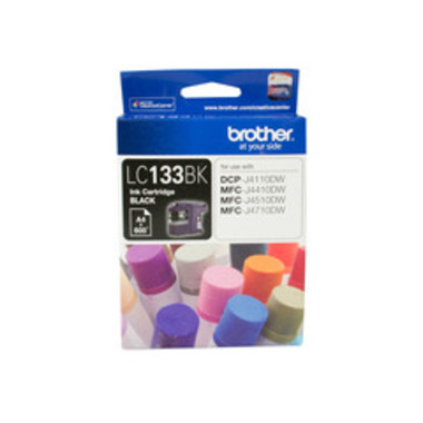 Brother LC-133BK Black Ink Cartridge
