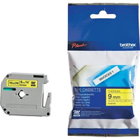Brother MK621 Labelling Tape - Black on Yellow M Tape 9mm