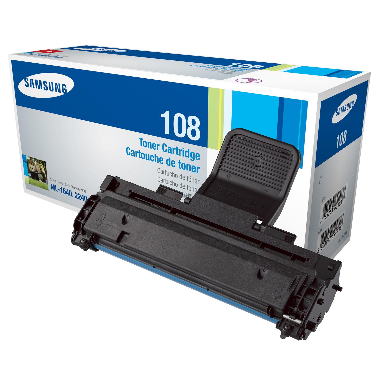 Samsung 108S Black Toner Cartridge (Original)