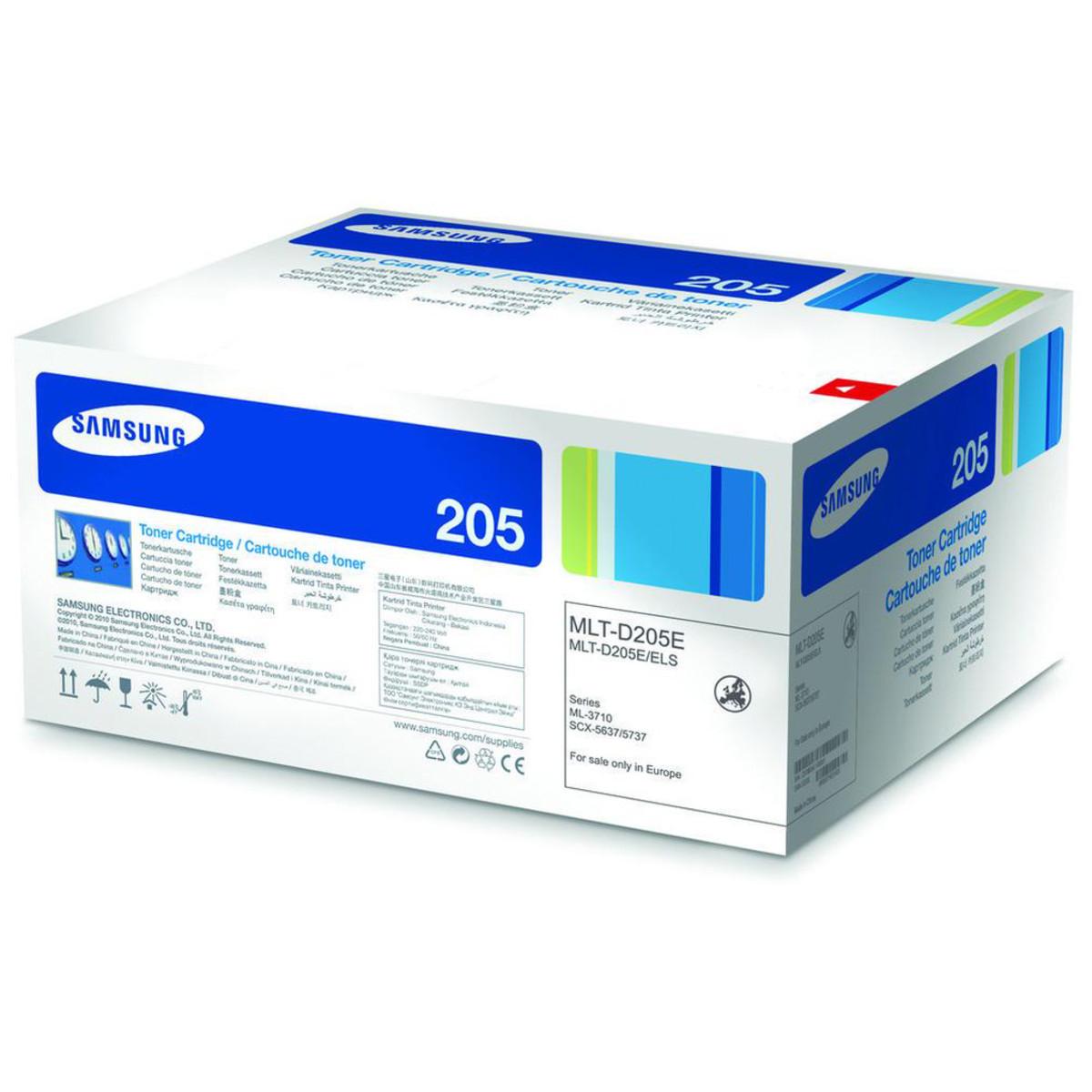 Samsung MLT-D205E Black Toner Cartridge