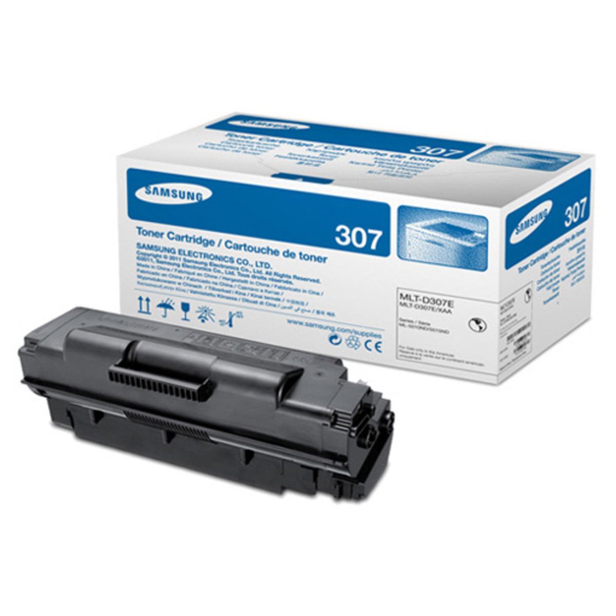 Samsung MLT-D307E Black Toner Cartridge