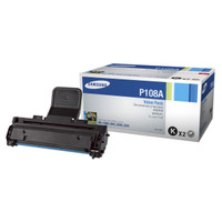 Samsung MLT-P108A Black Toner Cartridge - Twin Pack