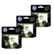 HP 65XL Ink Cartridge Value Pack - Includes: [3 x Black]