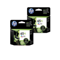 HP 65XL Colour Ink Cartridge Dual Pack