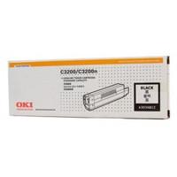 OKI O3200HB Black Toner Cartridge - High Yield