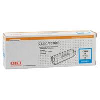 OKI O3200HC Cyan Toner Cartridge - High Yield