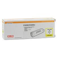 OKI O3200HY Yellow Toner Cartridge - High Yield